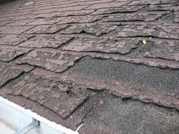 old roof shingle