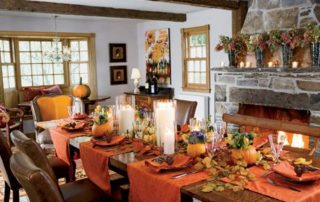 Thanksgiving dining room