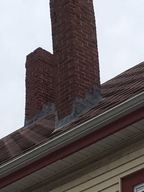 crooked chimney