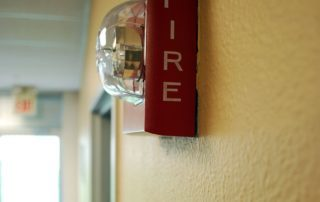 strobe light fire alarm