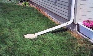 Downspout extender