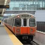 Orange line train MBTA