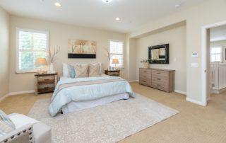 Bedroom in white